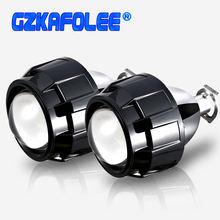 Gzkafolee Универсальный биксеноновый мини проектор 25 дюйма