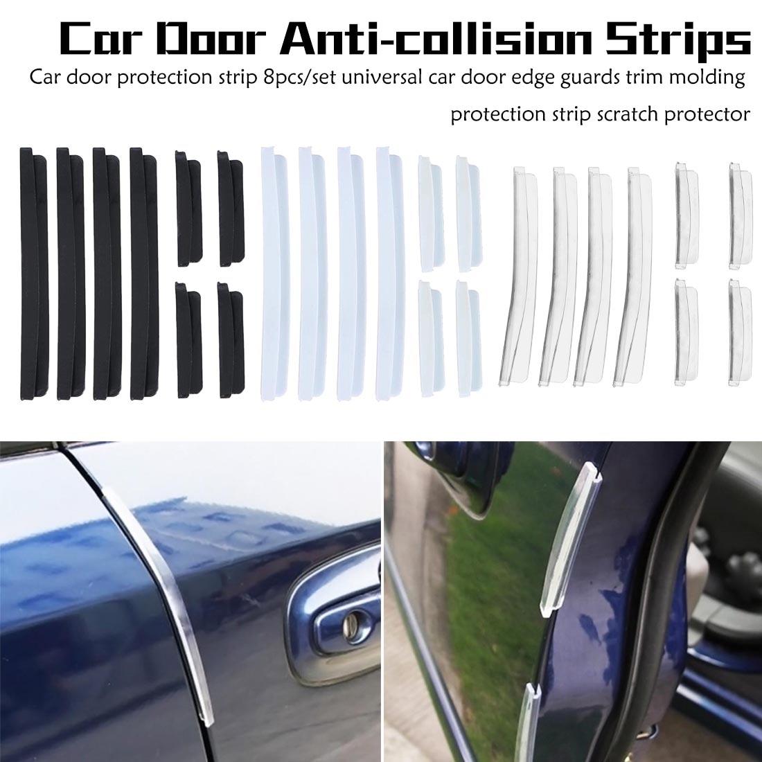 GREAT WALL DOOR SCRATCH GUARD /& COLLISION PROTECTOR ANTI-RUB TRIM STRIP SET