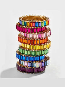 SRainbow-Ring Stack-G...