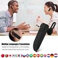 Multi-Language instant translator voice translator Wireless bluetooth earphone headphones traductor simultaneo russian language