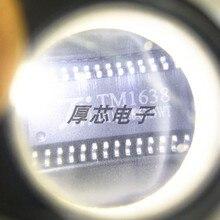 10 шт. TM1638 светодиодный привод управляющая клавиатура сканирования Интерфейс чип оригинальный светодиодный светильник-светодиод драйвер д...