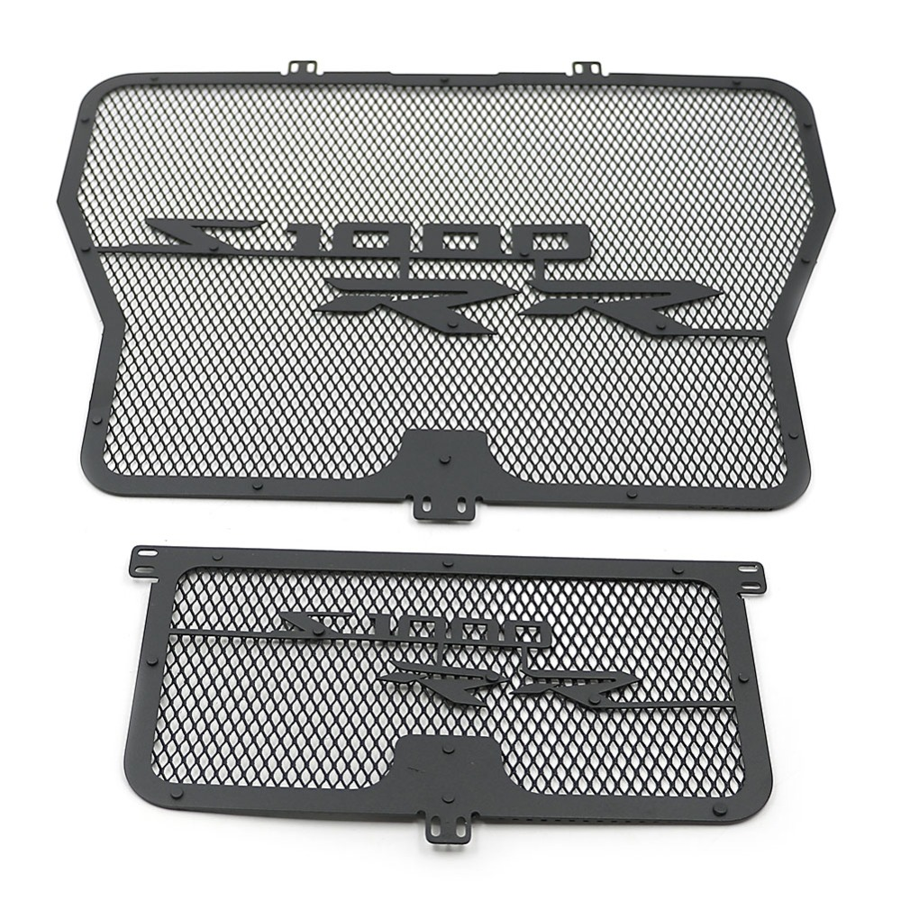 Motorcycle Cooler Radiator Guard Grill Grille Aluminum Cover Protector for BMW S1000RR 2010 2011 2012 2013 2014 2015 2016 2017