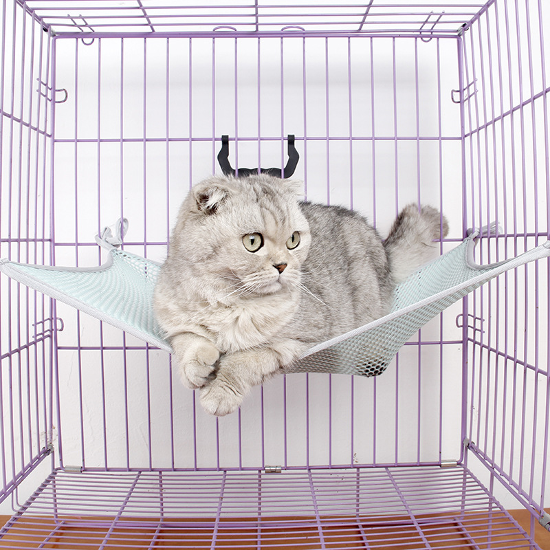 Ji Zekee Cat Supplies Factory Mesh Hanging Nest Cat Hanging Nest Single Layer Windowsill Cool Nest Summer Cat Hammock