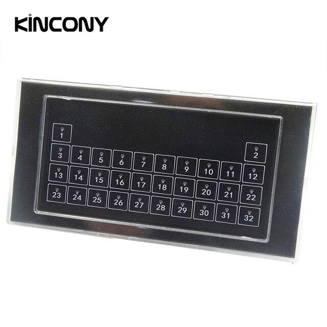 Kincony 32 bouton clavier mur auto réinitialisation commutateur Module contacteur sec pour KC868 contrôleur de système de contrôle domotique intelligent