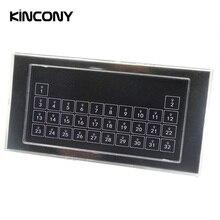 Kincony Módulo de interruptor de reposición automática de pared para teclado, 32 botones, Contactor en seco para KC868, controlador inteligente de sistema de Control de automatización del hogar