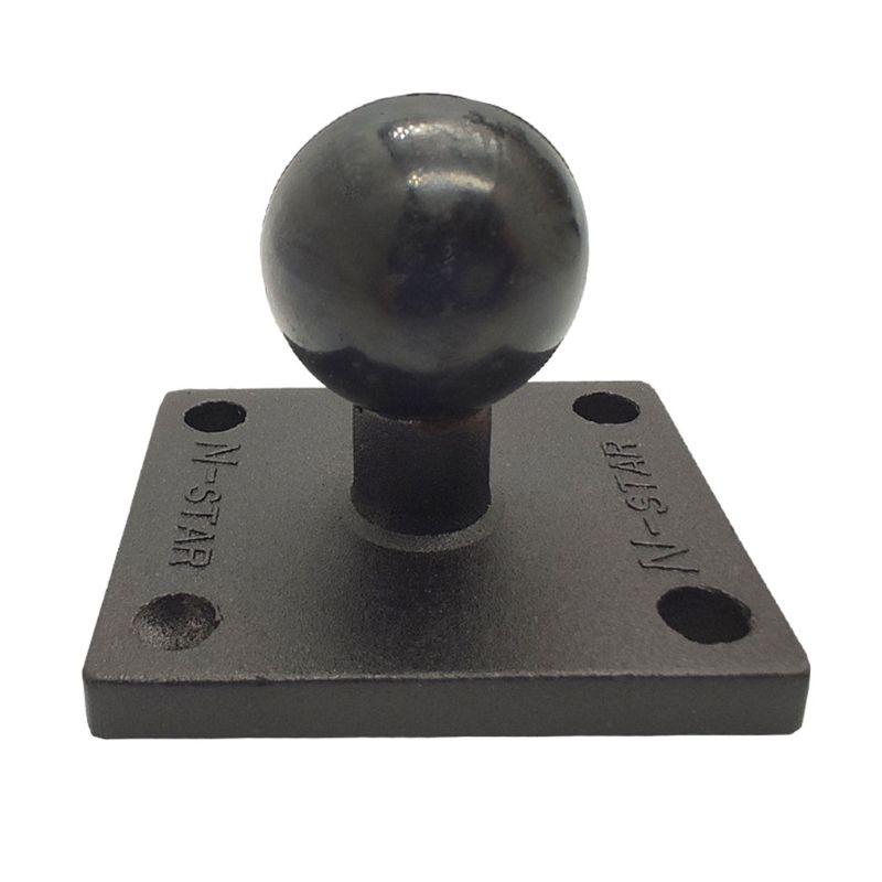 Aluminum Square Mount Base With Ball Head For Ram Mount For Garmin Zumo/TomTom