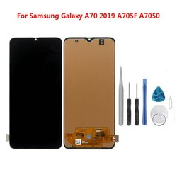Black LCD Screen + Full Touch Screen+ Tool Kit+phone Clip For Samsung Galaxy A70 A705 A705F