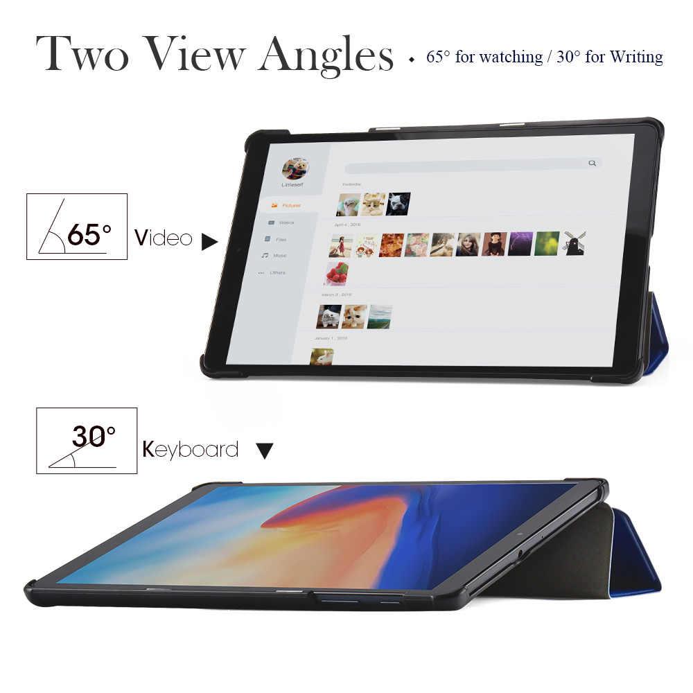 Case untuk Samsung Galaxy Tab A 10.1 2019/Tab S6 Lite10.4 2020/Tab S5E 10.5 2019/Tab s7 2020/ Flip Stand PU Kulit Tablet Cover