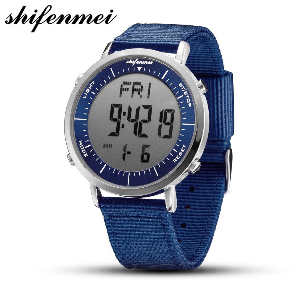 Shifenmei S1144 Men / Woman Watches Waterproof Sports Casual Woman Watch Wristwatches Digital LED Clock Men Relogio Feminino