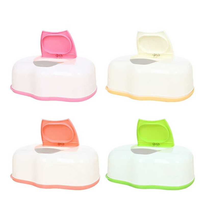 Accessories Wipes-Press Wet-Tissue-Box Automatic-Case Plastic Pop-Up-Design Baby