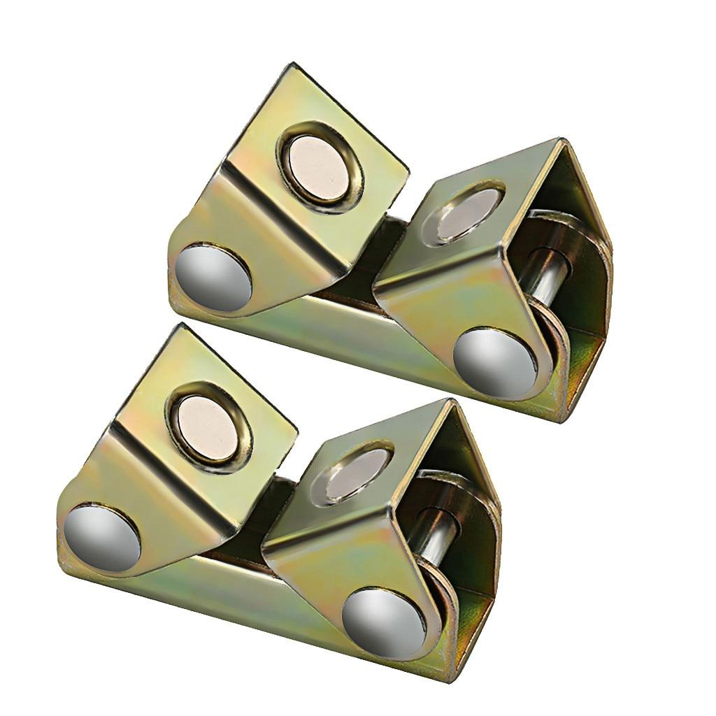 2PCS Small Magnetic V-type Clamp Welding Holder Welding Fixture Adjustable V-Pads Metal Working Tool Hand Tools V-welding Fixtur