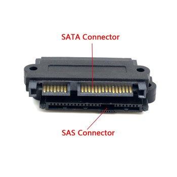 цена на Hardisk drive adapter SAS to SATA adapter SFF-8482 SAS 22 Pin to 7 Pin + 15 Pin SATA Hard Disk Drive Raid Adapter with 15 Pin