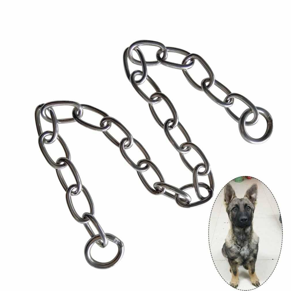 重金属デューティ固体ステンレス鋼犬チョークチェーン首輪ペットネックレスピット · ブル、マスチフ、ブルドッグ、ビッグ品種