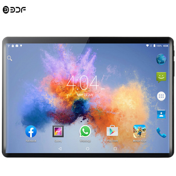 2019 novo tablet pc 10.1 polegada android 9.0 comprimidos 8 gb + 128 gb dez núcleo 3g 4g lte telefone ips pc tablet wifi gps 10 polegada comprimidos