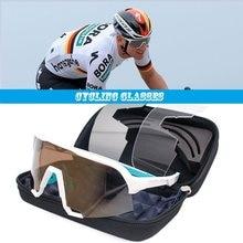 Photochromism óculos de bicicleta 2021 uv400 ciclismo ao ar livre esportes mountain road óculos de sol dos homens 100 peter velocidade