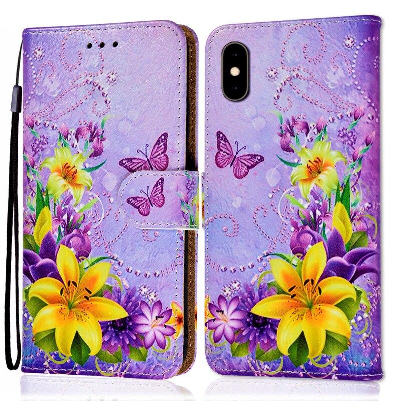 Wallet Coque Case For Samsung Galaxy S9 S8 S7 S6 A6 Plus J3 J5 J7 2017 2016 Fundas Flip Back Cover Card Slots