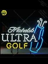 Sinais de néon para michdob ultra golf luz decorar festa quarto artesanato publicitário anuncio luminoso luz sinal de néon pub garagem