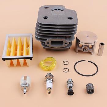 Комплект для двигателя с воздушным топливным фильтром, цилиндр 52 мм для HUSQVARNA 268 272 XP 272K 272XP, детали двигателя бензопилы