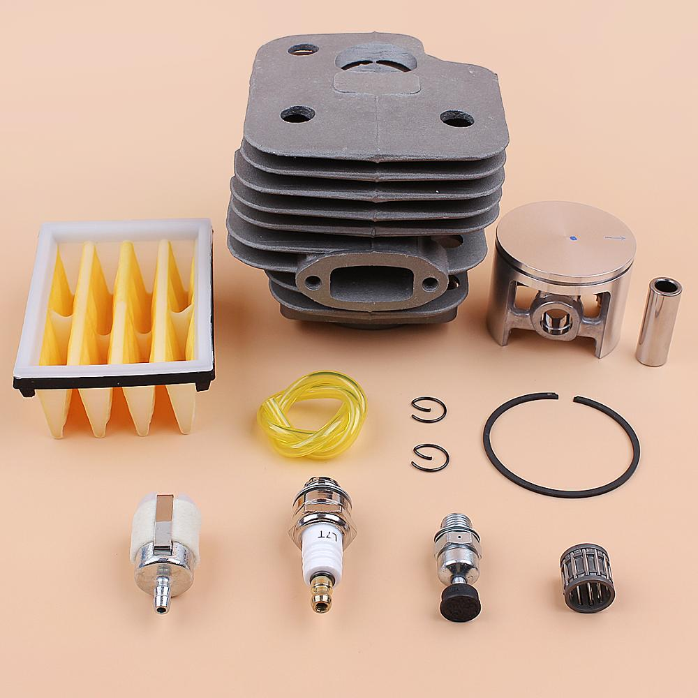 52mm Cylinder Piston Air Fuel Filter Engine Kit For HUSQVARNA 268 272 XP 272K 272XP Chainsaw Motor Parts