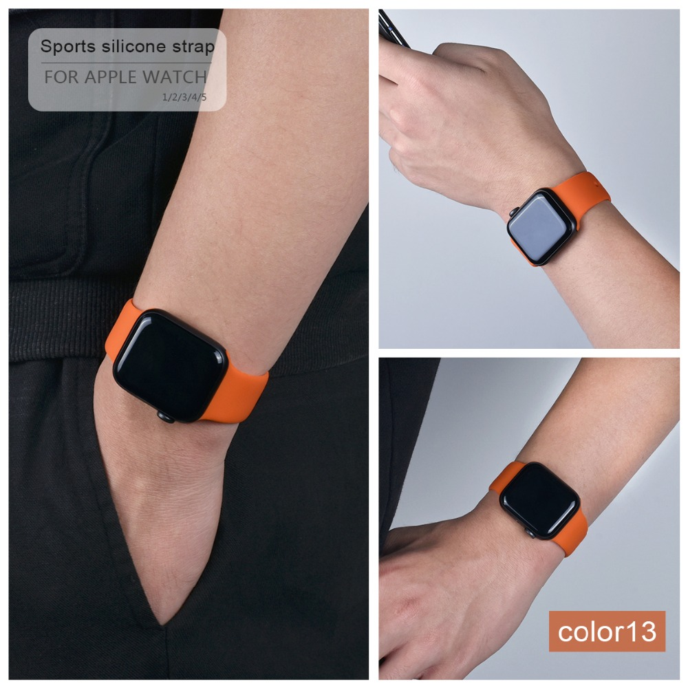 Soft Silicone Band for Apple Watch 110