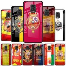 Coque de téléphone en verre trempé pour Xiaomi Redmi Note 9S, 8T, 9T, 7, 8, 9 Pro, 8A, 9A, 9A, 9C, K20, K30 Pro
