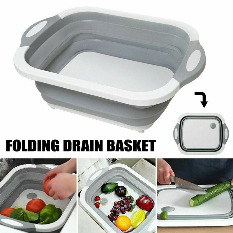 Popular Multifunctional Cutting Board Portable Folding Sink Kitchen Sink Supplies