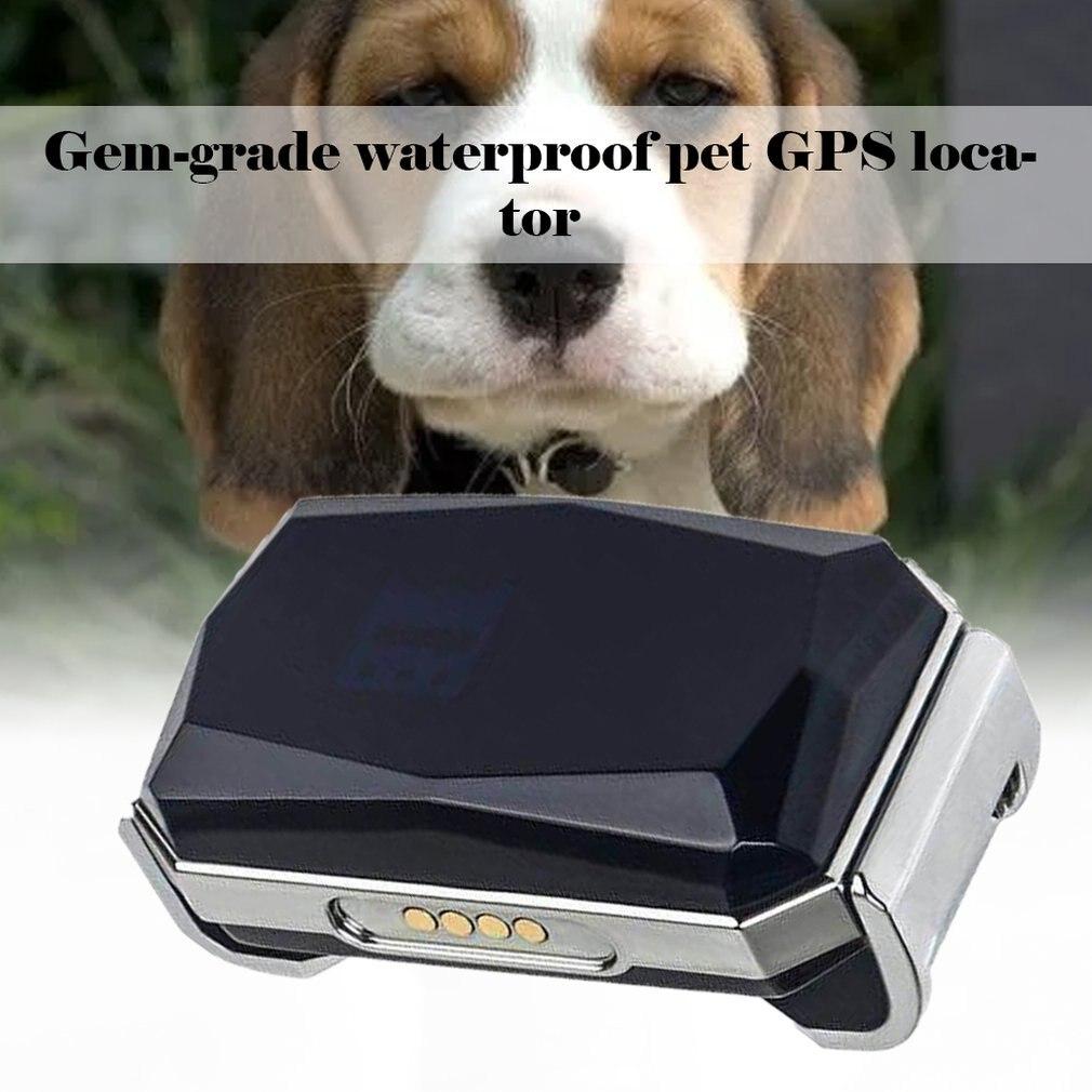 Waterproof Pet Collar Locator Mini Light Gps Tracker Pets Dogs Cats Cattle Sheep Waterproof Tracking Locator