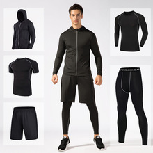 Sportswear Tracksuit Tight Compression-Clothes Running-Sets Gym Basketball-Training Fitness