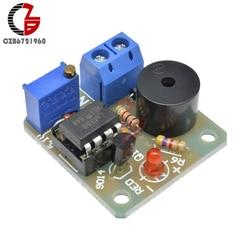 Bateria de armazenamento de 12v, bateria de armazenamento de baixa tensão, subvoltagem, descarga, alarme de som, placa de proteção do detector