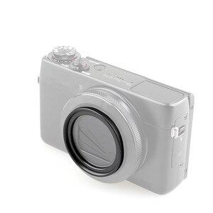 Image 5 - Фильтр и адаптер ND2 ND4 ND8 с нейтральной плотностью, кольцевой держатель объектива для Canon G7X Mark II III Ricoh GR II III Sony ZV 1 ZV1