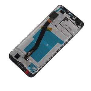 Image 3 - Original pour Huawei Honor 7A pro écran tactile daffichage à cristaux liquides avec cadre AUM L29 pièces de téléphone Aum L41Digitizer pour Honor 7A Pro LCD
