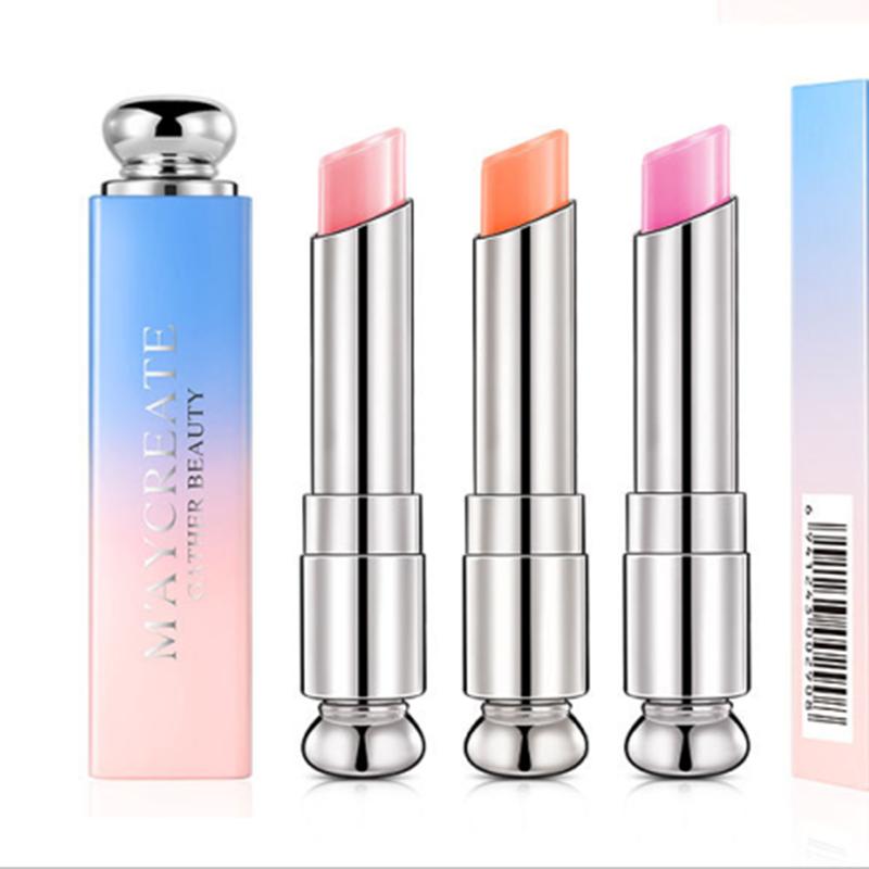 Beauty Bright Crystal Jelly Lipstick Magic Temperature Change Color Lipsticks For Women Sexy Waterproof Long Lasting Nude Lipsti
