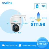 Reolink Argus PT 1080P WiFi Kamera Wireless PT Batterie Powered Sicherheit Kamera für Outdoor Indoor Sicherheit