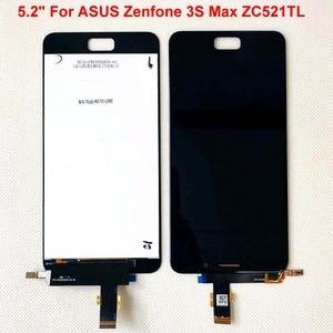 Image 1 - ЖК дисплей с сенсорным экраном и дигитайзером для ASUS Zenfone 3S Max ZC521TL, 5,2 дюйма