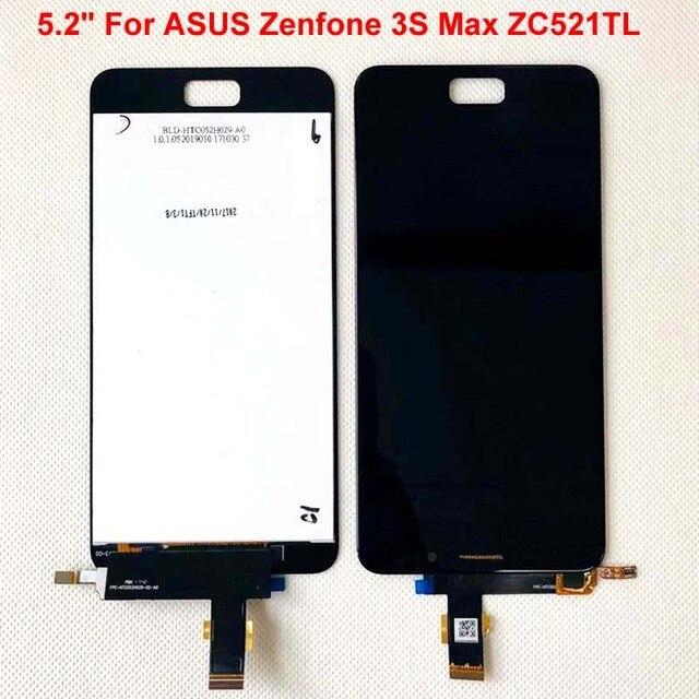 ЖК дисплей с сенсорным экраном и дигитайзером для ASUS Zenfone 3S Max ZC521TL, 5,2 дюйма