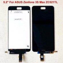 """Recambio de Digitalizador de pantalla táctil LCD para ASUS Zenfone 3S Max ZC521TL, repuesto de pantalla Pegasus, 5,2"""""""