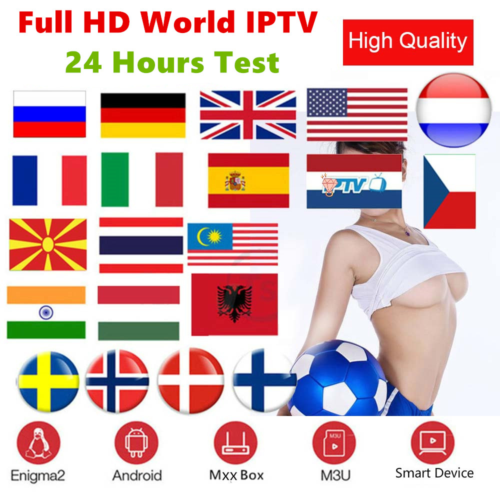 Stable Premium 1 Year Abonnement IPTV Spain With 4K HEVC VOD Movies For Xtream Code M3u Smart IPTV Smarters Pro Android TV Box