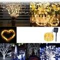 100Led пузырь шар Открытый водонепроницаемый солнечный светильник струнный шар светильник s Рождественский светильник s садовый светильник s