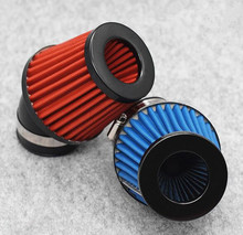 48MM Partol Motorcycle Air Filter 48mm Universal Red Cleaner Intake For Scooter