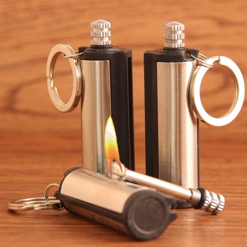 1Pcs Survival Emergency Fire Starter Flint Metal Match Lighter Hiking Camping US