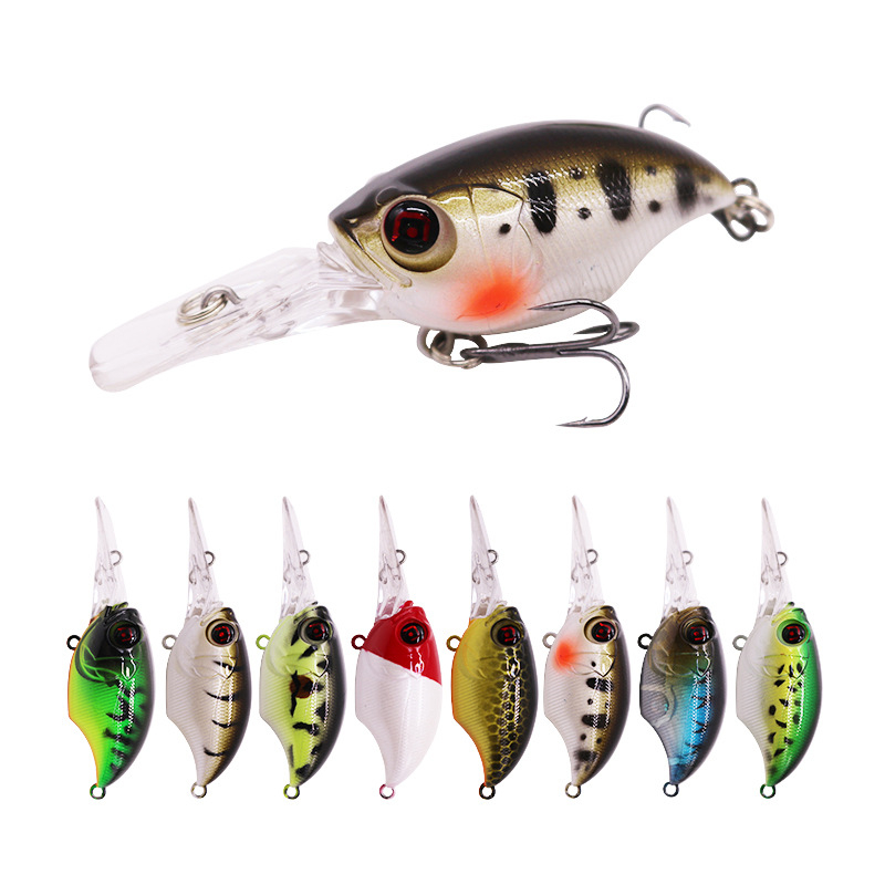 Crankbait Fishing Lures Wobblers 3D Eyes 7.5cm 11.5g Artificial Plastic Bass Hard bait Minnow Pesca Carp Fishing Tackle