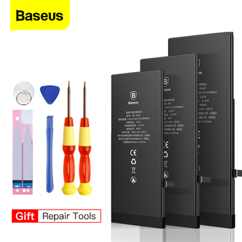 IPhone 6 s 6 s 5s 5 7 8 Plus 용 Baseus 배터리 iPhone 6plus 7plus 8 plus 용 대용량 Bateria 교체 용 배터리