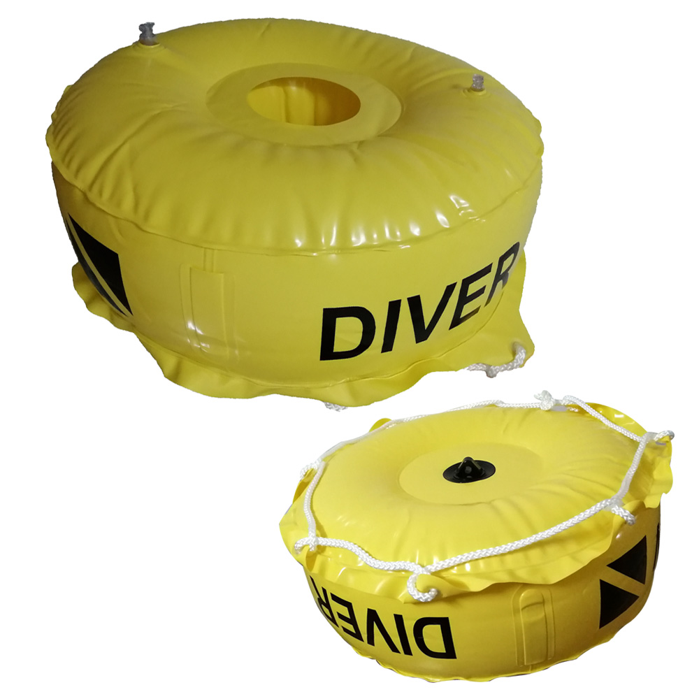 Scuba Diving Deluxe Diver Below Flag Float Without Flag Inflatable Diver Down Flag Bouy For Wreck Cave Diving