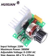 AC 220V 3800W SCR Regulator napięcia ściemniacze ściemniacze Regulator prędkości termostat R02 upuść statek