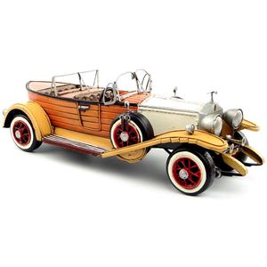 Image 1 - Antique classical British car model retro vintage wrought  metal crafts for home/pub/cafe decoration or birthday gift