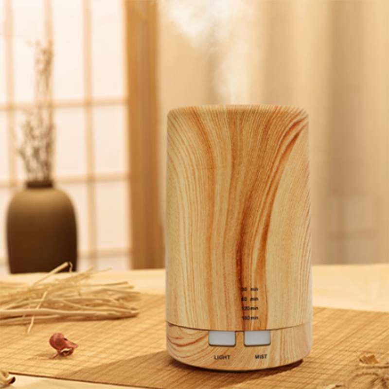 HOT!Ultrasonic Air Aroma Mini Wood Grain Usb Humidifier Classic Wood Grain Safety Electric Aromatherapy Essential Oil Diffuser