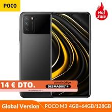 Globale Version POCO M3 4GB 64GB/128GB Snapdragon 662 Octa Core Smartphone 6000mAh 48MP Kamera 6.53