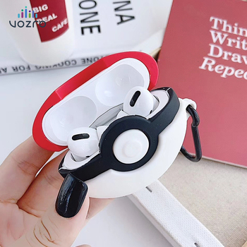 VOZRO Cartoon Wireless Bluetooth Earphone Case For NEW Apple AirPods Pro Charging Headphones Cases For