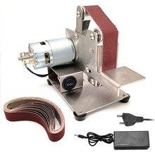 110V/220V Mini ceinture électrique Sande nouveau Style bricolage polissage rectifieuse Cutter bords affûteuse meuleuse multifonctionnelle