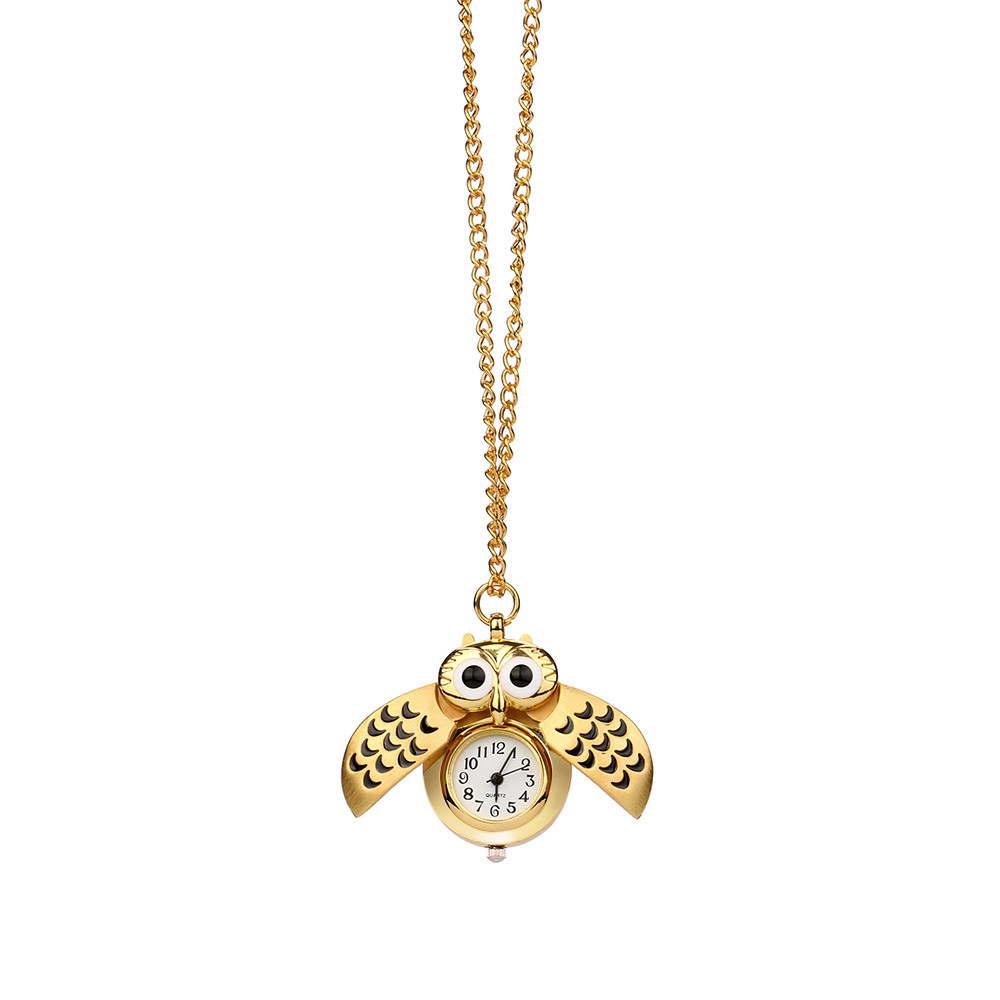 H2edc52f49c084adc8d156eac8844adc6o - Pocket Watch Vintage Style Retro Slide Owl Pendant Long Necklace Analog Pocket Watch Gift Bundy Party Watch gift
